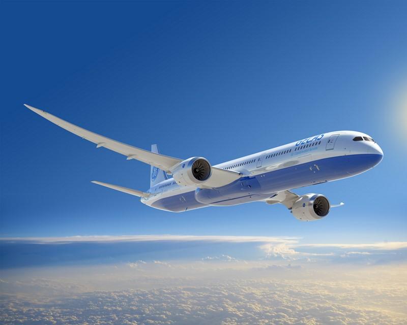 Boeing 787: talvez o mais moderno da atualidade, esse avião usa fibra de carbono na construção, motores de última geração da Rolls-Royce ou da G.E e tem aerodinâmica avançada para ter um longo alcance, mas gastando pouco combustível - Foto: Divulgação - Foto: Divulgação/Garagem 360/ND