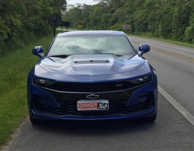 Melhores carros testados - Chevrolet Camaro SS. O teste completo está aqui: https://bit.ly/2TiFHh2 - Foto: Leo Alves/Garagem360 - Foto: Leo Alves/Garagem360/Garagem 360/ND