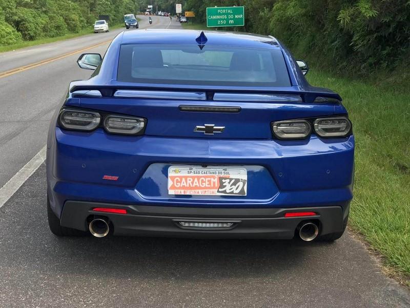 Chevrolet Camaro SS. O teste completo está aqui: https://bit.ly/2TiFHh2 - Foto: Leo Alves/Garagem360 - Foto: Leo Alves/Garagem360/Garagem 360/ND