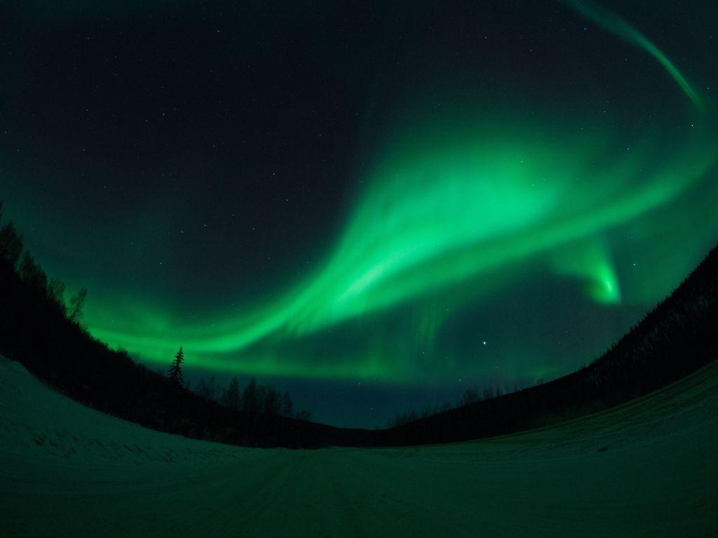 A cidade de Fairbanks, no Alasca, é mais um local ideal para ver a aurora boreal - VisualHunt - VisualHunt/Rota de Férias/ND