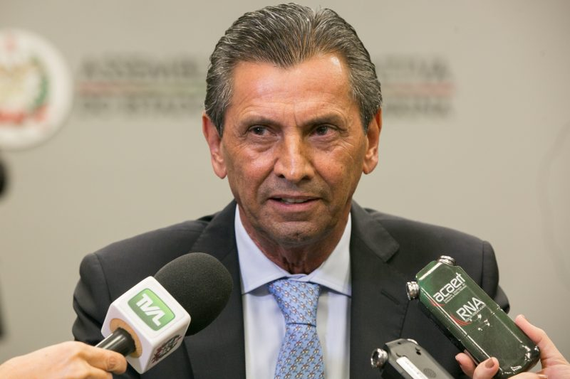 Julio Garcia foi preso na Operação Hemorragia – Foto: Rodolfo Espínola/Agência AL/ND