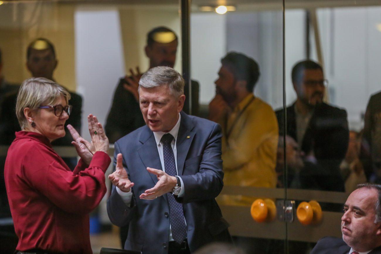 Luciane Carminatti e Milton Hobus - Fábio Queiroz/Agência AL/ND