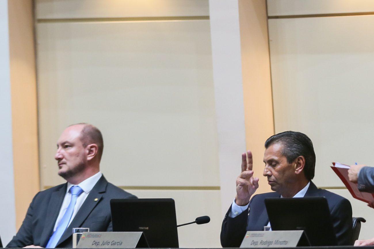 Mauro de Nadal e Julio Garcia - Fábio Queiroz/Agência AL/ND