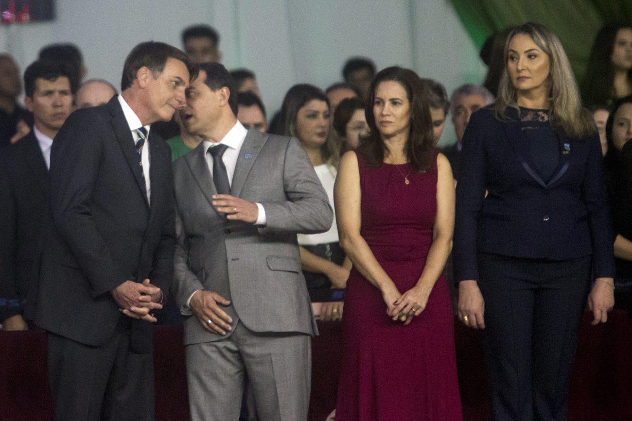 Bolsonaro e Moisés conversam - Flavio Tin/ND