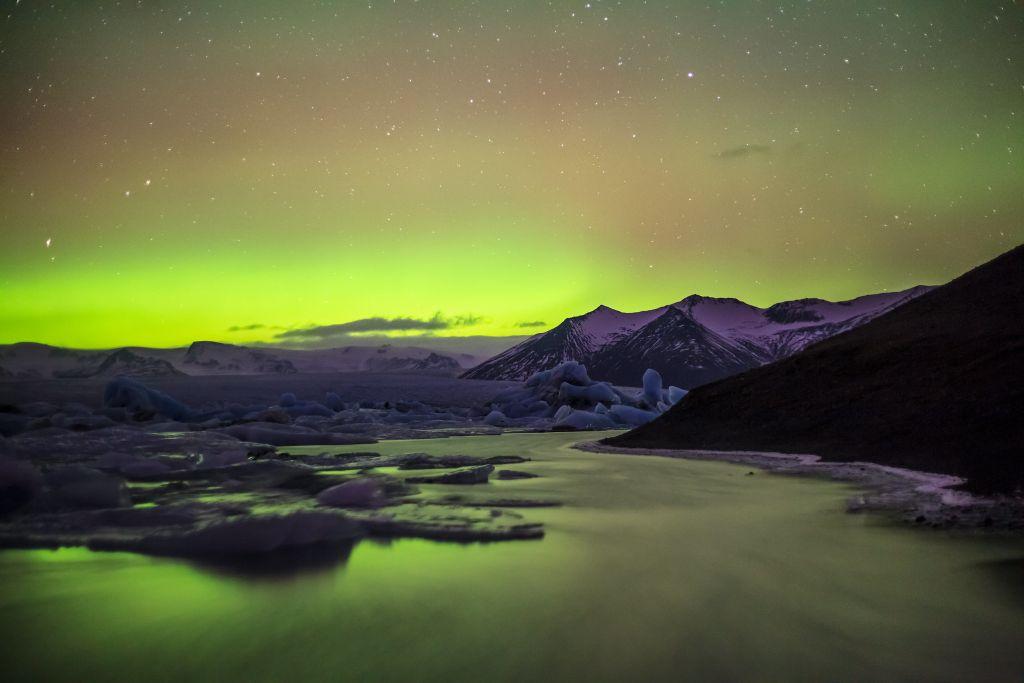 Jöklsárlón, na Islândia, é um dos melhores locais para ver este fenômeno da natureza - anieto2k on VisualHunt.com / CC BY-SA - anieto2k on VisualHunt.com / CC BY-SA/Rota de Férias/ND