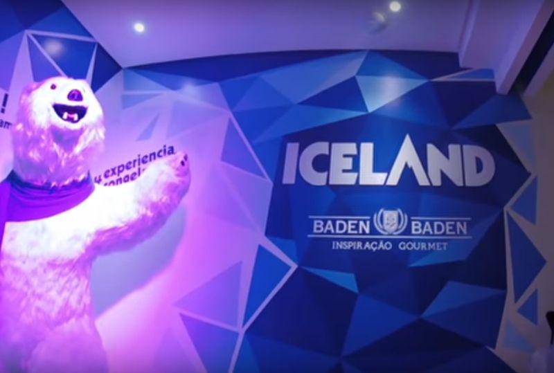 Bar de Gelo, também conhecido como Iceland, em Campos do Jordão. Prepare o casaco, pois as temperaturas no local ficam entre -15° C e -21° C - Reprodução YouTube - Reprodução YouTube/Rota de Férias/ND