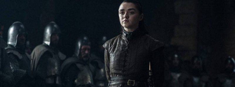 Arya Stark é a personagem de Game of Thrones mais popular das redes sociais - Divulgação