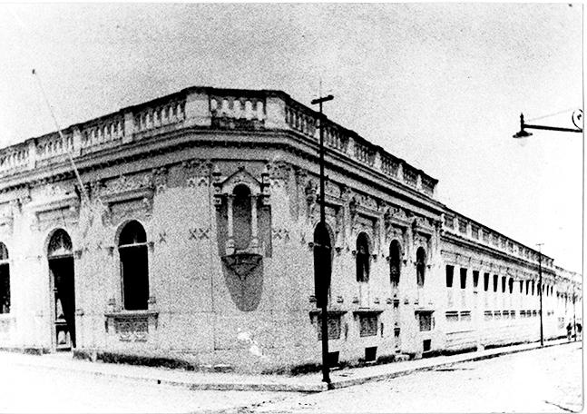 Sede na rua Trajano que funcionou de 1908 a 1960; – Divulgação/ND