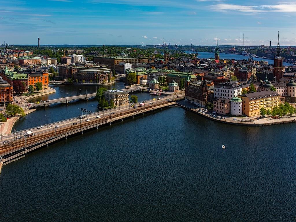 Estocolmo, na Suécia, é o cenário utilizado em