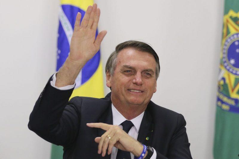 """Se há um telefone grampeado, este é o meu"", disse Bolsonaro – Valter Campanato/Agência Brasil/ND"
