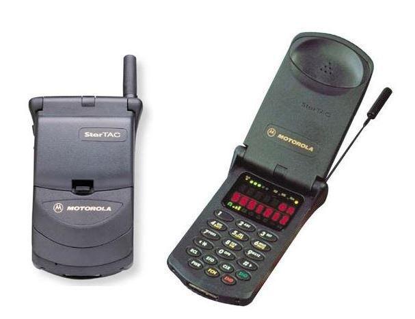 O Startac, apresentado em 1996 pela Motorola, iniciou a era dos flips. - Crédito: portalgda via Visualhunt / CC BY-NC-SA/33Giga/ND