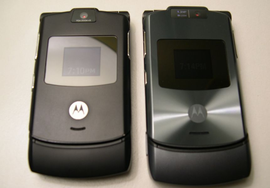 Motorola V3 foi um sonho de consumo em seu lançamento, no já distante 2004. - Crédito: reticulating via Visual hunt / CC BY-NC-ND/33Giga/ND