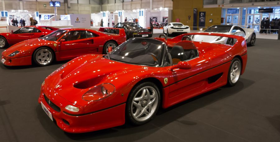 Ferrari F50 - Foto: Juan Cañizares via Visual hunt / CC BY-NC-ND - Foto: Juan Cañizares via Visual hunt / CC BY-NC-ND/Garagem 360/ND