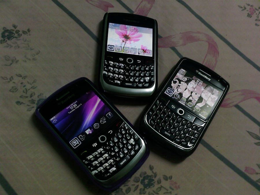 Outra empresa que fez sucesso foi a Blackberry. O modelo Curve, de 2008, foi um dos mais poupulares. - Crédito: Honou via Visual Hunt / CC BY/33Giga/ND