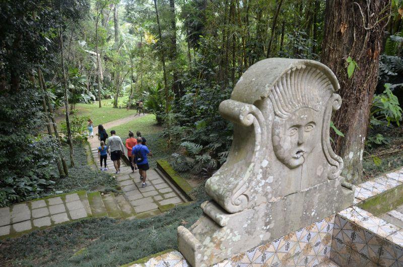 O Museu do Açude conta com belos jardins e obras de arte - Alexandre Macieira/Riotur - Alexandre Macieira/Riotur/Rota de Férias/ND