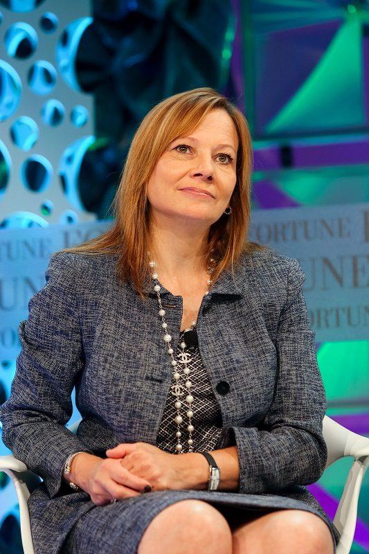 Mulheres mais poderosas no mundo da tecnologia: 1. Mary Barra – CEO da General Motors Company - Crédito: Fortune Most Powerful Women on VisualHunt.com / CC BY-NC-ND/33Giga/ND