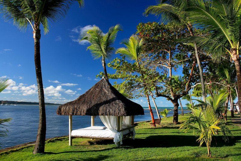 Além das atrações para relaxar dentro do hotel, o Arraial d'Ajuda Eco Resort permite que seus hóspedes tenham acesso ilimitado ao radical complexo aquático Eco Parque - Divulgação - Divulgação/Rota de Férias/ND