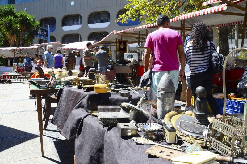 A Feira do Lavradio é uma das atrações do bairro da Lapa - Alexandre Macieira/Riotur - Alexandre Macieira/Riotur/Rota de Férias/ND