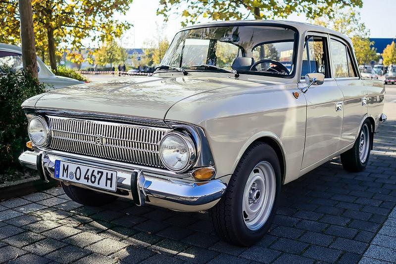 O Moskvich 412 era ideal para famílias russas. O modelo foi produzido entre 1967 e 1975 - Foto: ViewPix69 via Visualhunt / CC BY - Foto: ViewPix69 via Visualhunt / CC BY/Garagem 360/ND