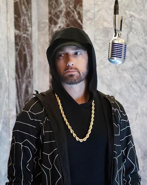 10. EminemMusic (https://www.youtube.com/EminemMusic) – 35,4 milhões de inscritos - Crédito: Reprodução Instagram/33Giga/ND