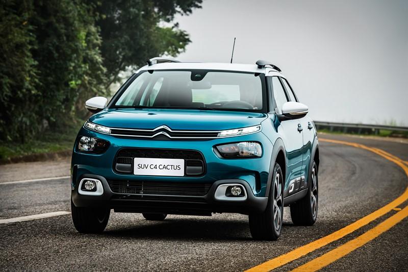 10- Citroën C4 Cactus: 6.600 unidades - Foto: Divulgação - Foto: Divulgação/Garagem 360/ND
