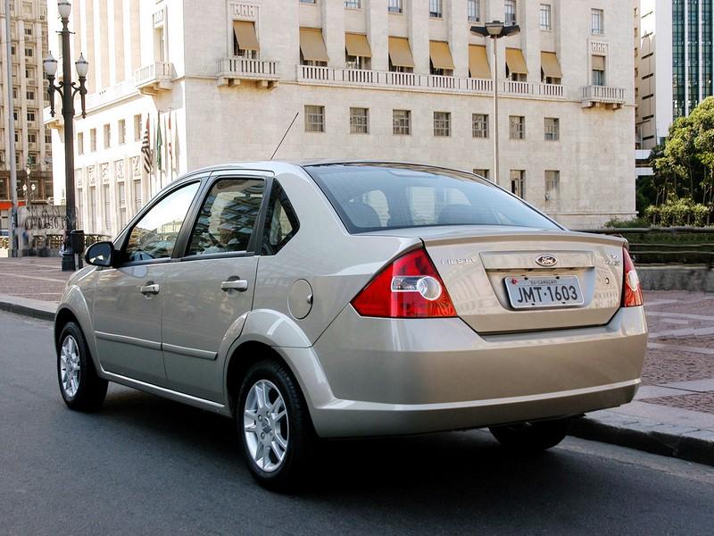 11º- Ford Fiesta Sedan: 21.827 unidades - Foto: Divulgação - Foto: Divulgação/Garagem 360/ND