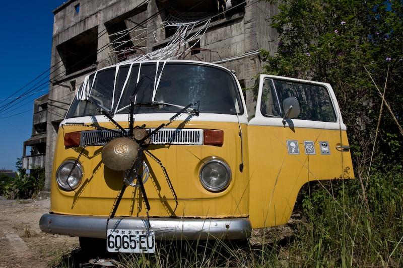 Quem tem medo de aranhas não vai chegar nem perto desta Volkswagen Kombi - Foto: Nomad@Live via VisualHunt.com / CC BY-NC-ND - Foto: Nomad@Live via VisualHunt.com / CC BY-NC-ND/Garagem 360/ND