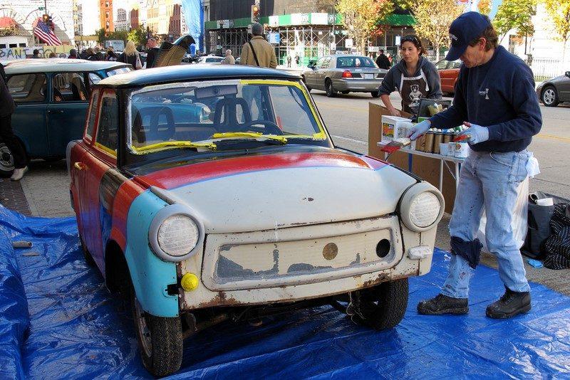Trabant, antigo carro da Alemanha Oriental, ganha pintura estilizada - Foto: Mr.TinDC via VisualHunt / CC BY-ND - Foto: Mr.TinDC via VisualHunt / CC BY-ND/Garagem 360/ND