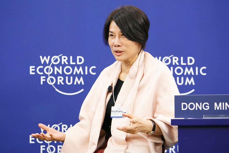 12. Mingzhu Dong – Chairwoman e Presidente da Gree Electric Appliances - Crédito: World Economic Forum on VisualHunt.com / CC BY-NC-SA/33Giga/ND