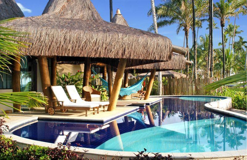 Além da qualidade dos serviços, o ponto alto do Kiaroa Eco-Luxury Resort é a privacidade das suítes e bangalôs, alguns deles com piscina particular e tudo - Divulgação - Divulgação/Rota de Férias/ND