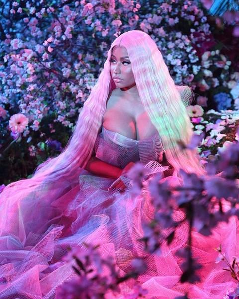 13. Nicki Minaj (www.instagram.com/nickiminaj) – 103 milhões de seguidores - Crédito: Reprodução Instagram /33Giga/ND