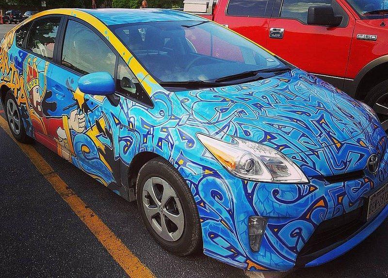 Este Toyota Prius não passa batido aos olhos do pessoal que curte grafite - Foto: everyday j via Visualhunt.com / CC BY-NC - Foto: everyday j via Visualhunt.com / CC BY-NC/Garagem 360/ND