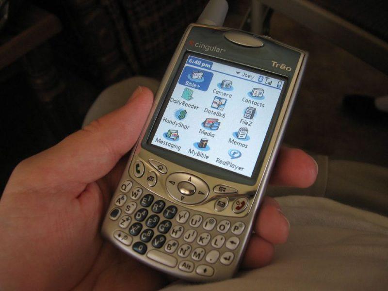 A Palm fez muito sucesso na década passada com seus smartphones. O One Treo 650 foi lançado em 2004. - Crédito: Joey Day via Visual hunt / CC BY-NC-SA/33Giga/ND