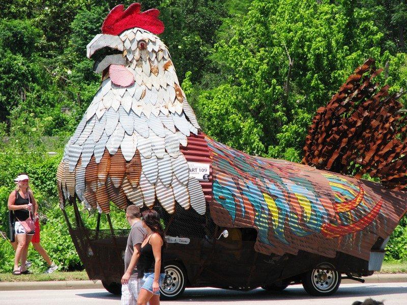 Carro ou galinha gigante? - Foto: cortneymartin82 via Visual Hunt / CC BY - Foto: cortneymartin82 via Visual Hunt / CC BY/Garagem 360/ND