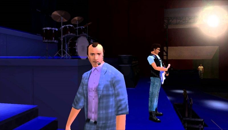 Phil Collins – GTA: Vice City Stories (2006) - Crédito: Divulgação/33Giga/ND