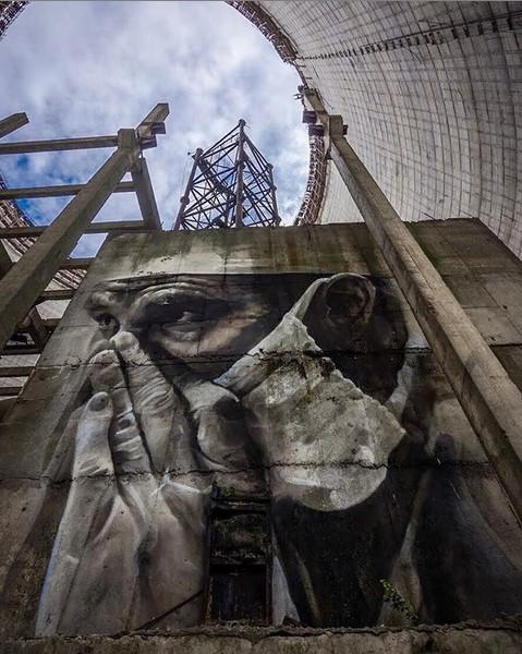 @chornobylnpp - Crédito: Reprodução Instagram/33Giga/ND