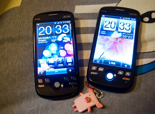 O primeiro aparelho que chegou ao Brasil e que rodava o Android foi o HTC Magic, de 2009. - Crédito: GIS@Sam via Visualhunt.com / CC BY-NC-ND/33Giga/ND