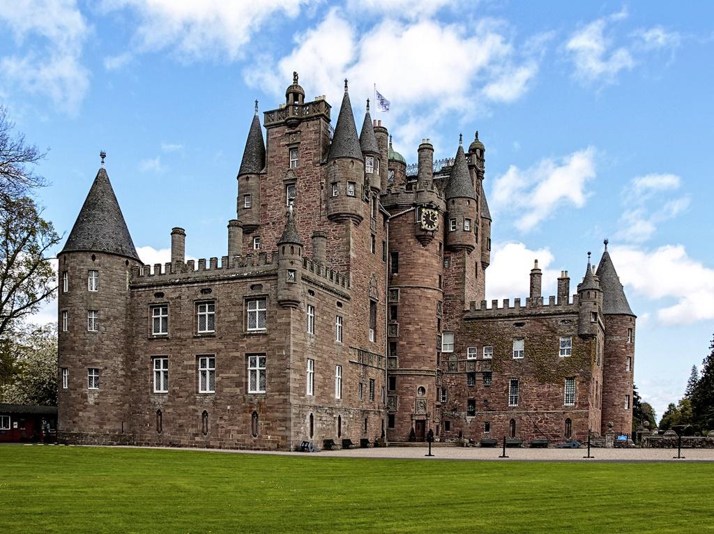 Castelo de Glamis, Glamis, Escócia - Miquel Fabré on Visualhunt.com / CC BY-NC-ND - Miquel Fabré on Visualhunt.com / CC BY-NC-ND/Rota de Férias/ND