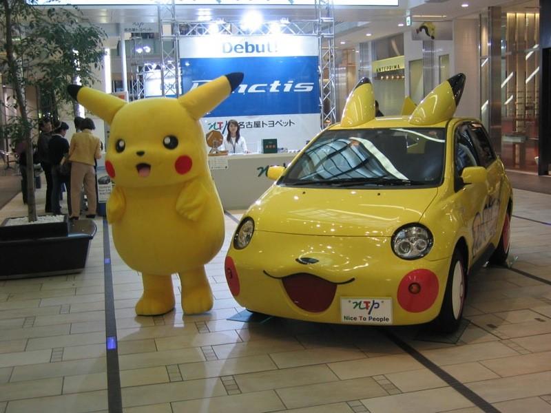 O Pikachu, da animação Pokémon, fez tanto sucesso que inspirou até a estilização de um carro - Foto: bizmac via Visual hunt / CC BY - Foto: bizmac via Visual hunt / CC BY/Garagem 360/ND