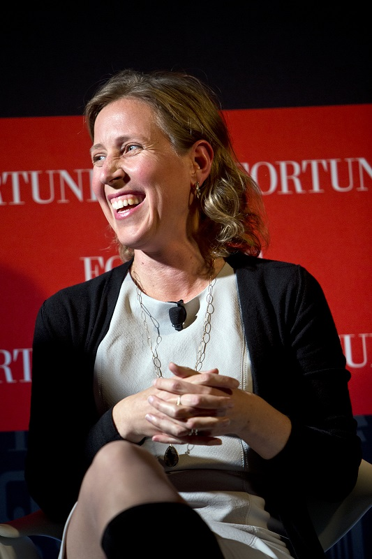 2. Susan Wojcicki – CEO do YouTube - Crédito: Fortune Live Media on VisualHunt / CC BY-NC-ND/33Giga/ND