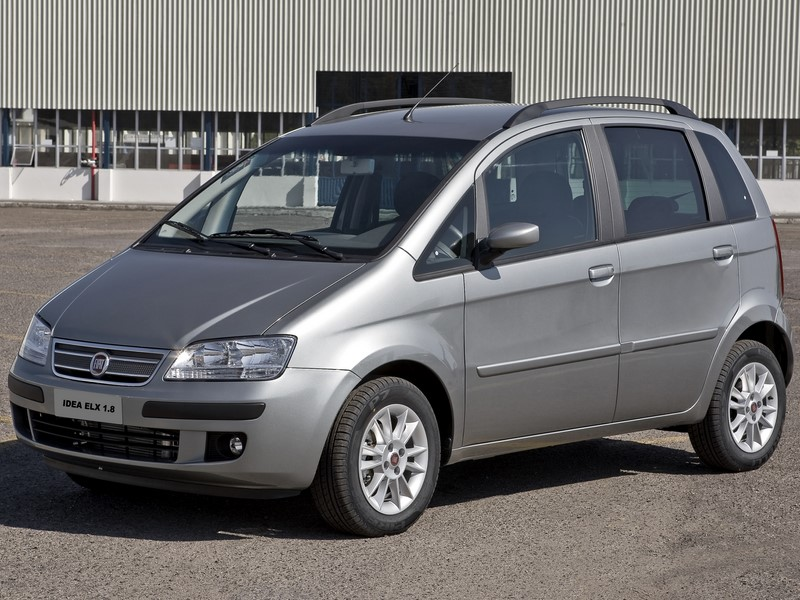 20º- Fiat Idea: 13.222 unidades - Foto: Divulgação - Foto: Divulgação/Garagem 360/ND