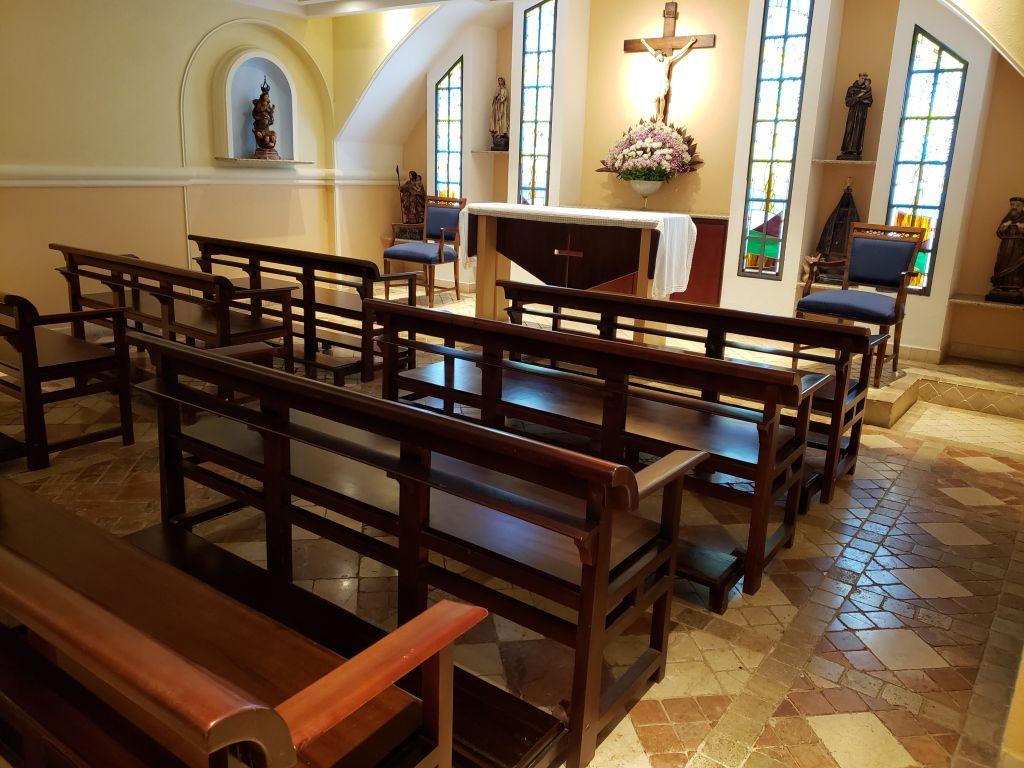 Independentemente da sua religião, vale a pena visitar a capela, que é bem bonitinha - Maria Beatriz Vaccari - Maria Beatriz Vaccari/Rota de Férias/ND