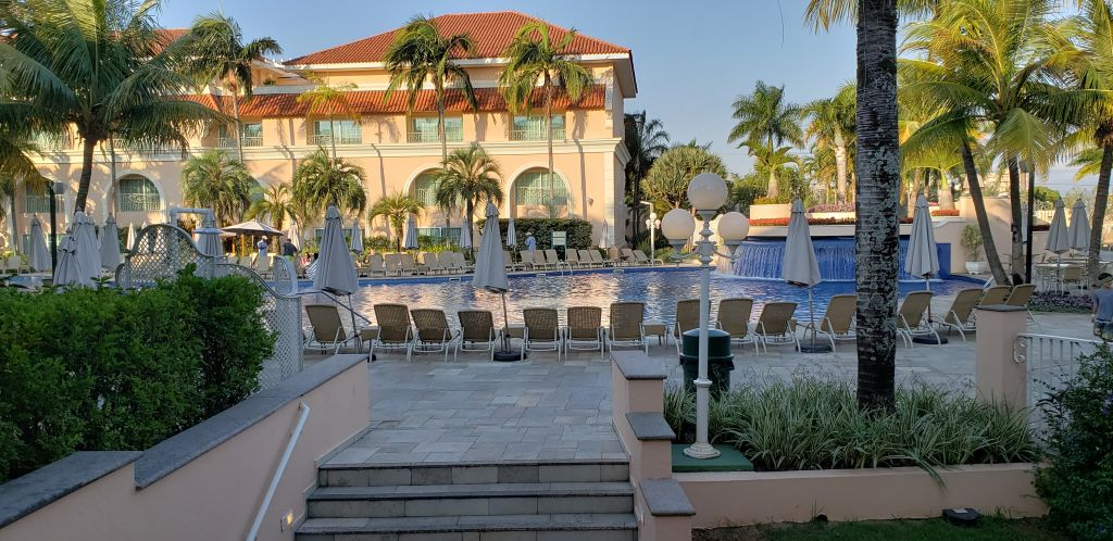 Complexo de piscinas do resort - Maria Beatriz Vaccari - Maria Beatriz Vaccari/Rota de Férias/ND