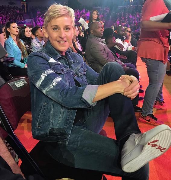 20. Ellen DeGeneres (www.instagram.com/theellenshow) – 73 milhões de seguidores - Crédito: Reprodução Instagram /33Giga/ND