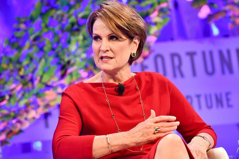 3. Marillyn Hewson – CEO da Lockheed Martin - Crédito: Fortune Most Powerful Women on Visual Hunt / CC BY-NC-ND/33Giga/ND