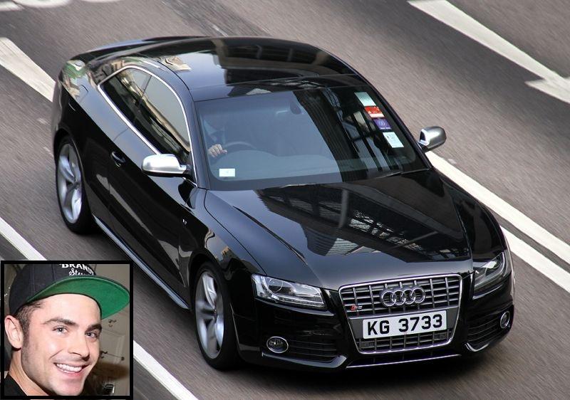 O ator galã Zac Efron anda a bordo de um Audi S5 - Foto: Christian Junker - Foto: Christian Junker /Garagem 360/ND