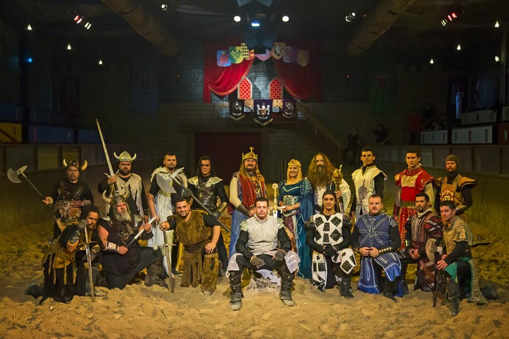 O Excalibur é um show medieval que conta a história da luta pela espada do Rei Arthur - Divulgação - Divulgação/Rota de Férias/ND