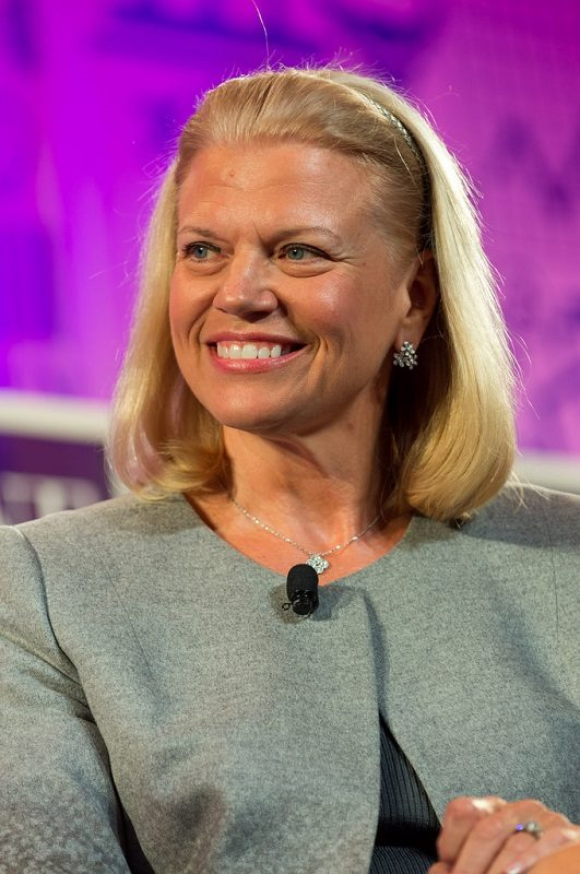 4. Ginni Rometty – CEO da IBM - Crédito: Fortune Live Media on VisualHunt.com / CC BY-NC-ND/33Giga/ND