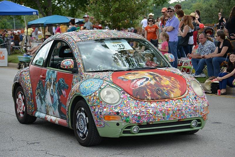A pessoa que reestilizou este Volkswagen New Beetle era uma grande fã de cachorros - Foto: Texas.713 via Visual hunt / CC BY-NC - Foto: Texas.713 via Visual hunt / CC BY-NC/Garagem 360/ND