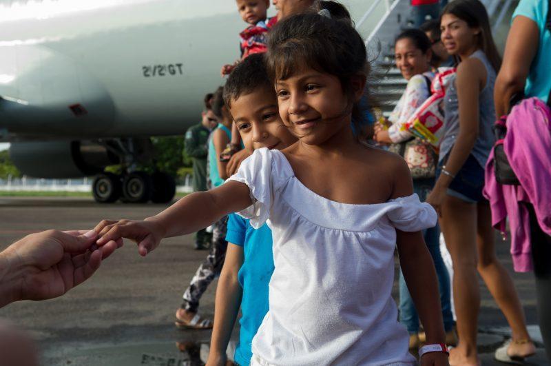 Refugiados da Venezuela no Brasil, em 2018 – Foto: Romério Cunha/Casa Civil Presidência da República